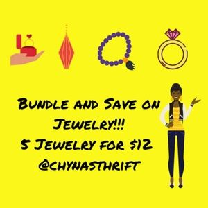 💍SALE💍BUNDLE AND SAVE 5 JEWELRY FOR $12